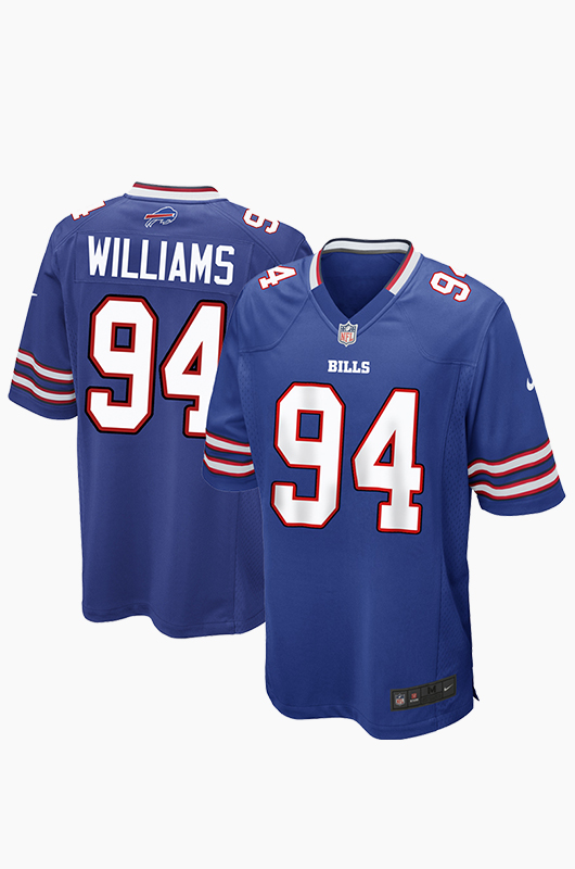 NFL Nike Bills Game Jersey Blue(94)