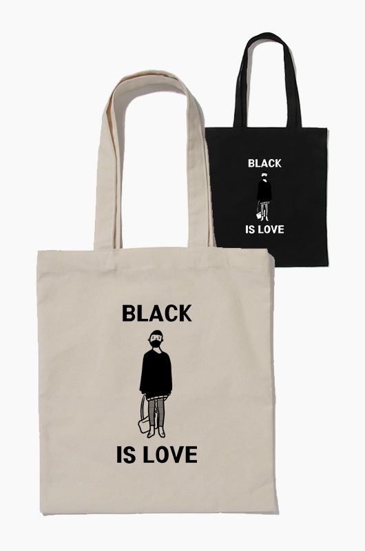 SIHO Black is love Eco Bag