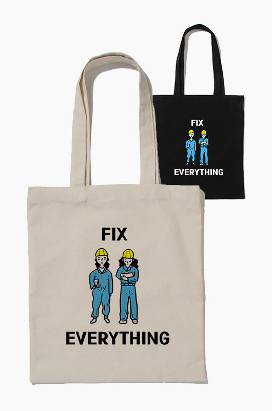 SIHO Fix everything Eco Bag