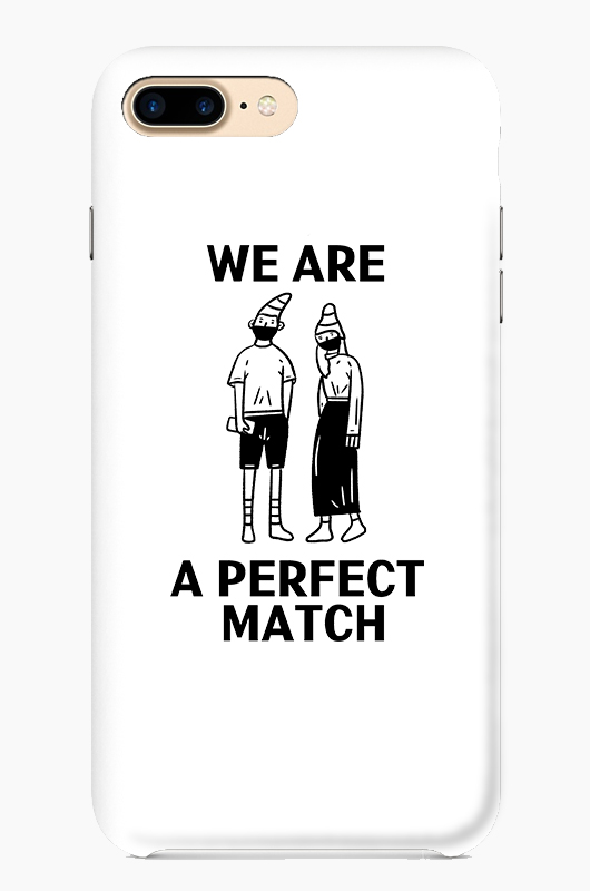 SIHO We are a perfect match Case