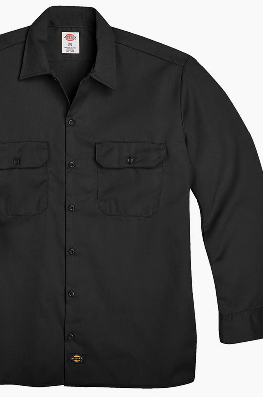 DICKIES 574 Work L/s Shirt Black