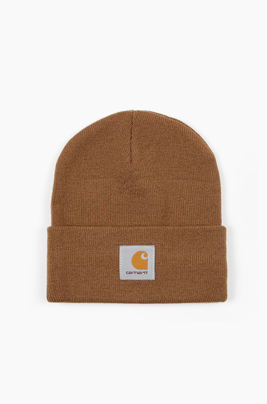 CARHARTT-WIP Short Watch Beanie H.Brown