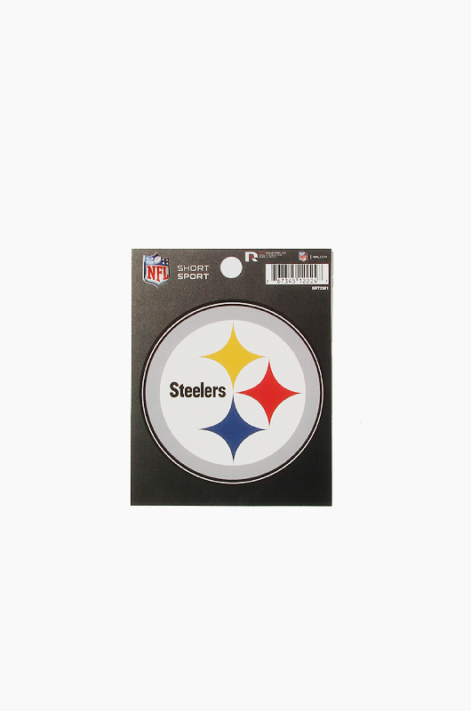 MLB Small Die-Cut Window Decal Steelers