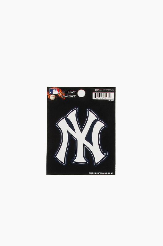 MLB Small Die-Cut Window Decal Yankees
