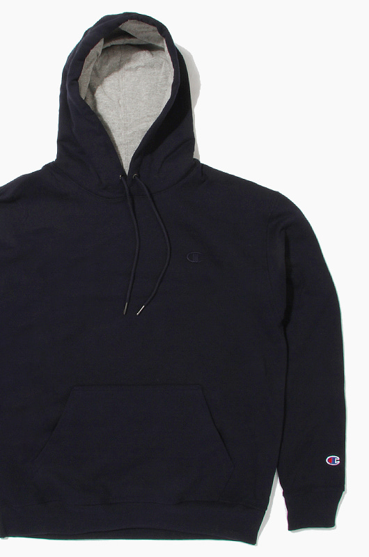 CHAMPION Powerblend Fleece Hoodie Navy