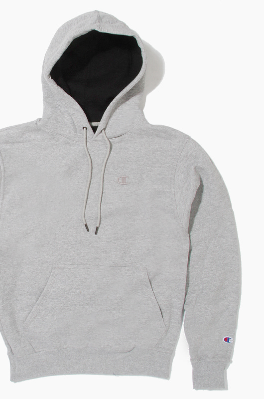CHAMPION Powerblend Fleece Hoodie Grey