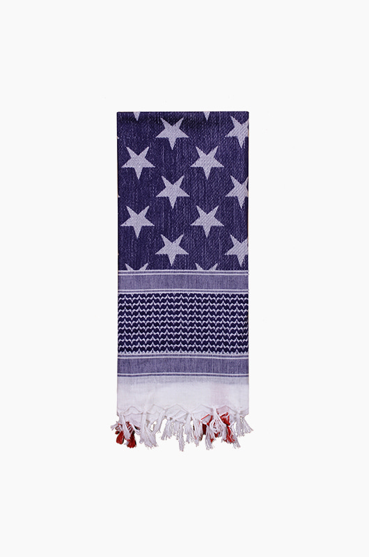 ROTHCO Tactical Desert Scarf US Flag