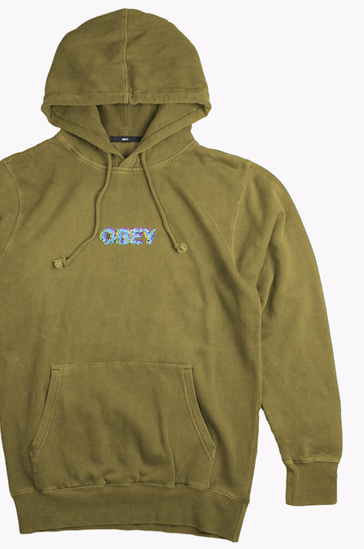 OBEY Creep Scan Hood D.Tapenade