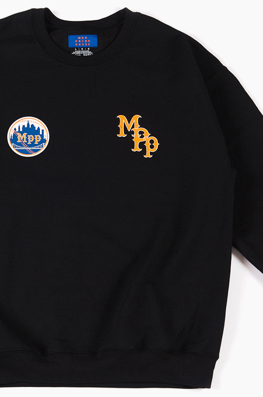 MAD PRIDE POSSE NY Mpp Crewneck Black
