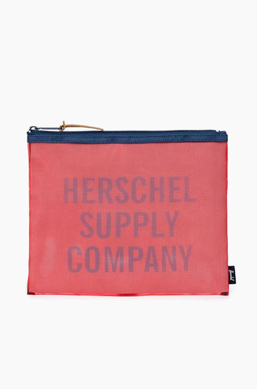 HERSCHEL Network Large-Mesh Red/Navy