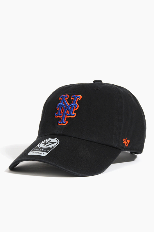 47BRAND MLB Clean Up Mets(Black)
