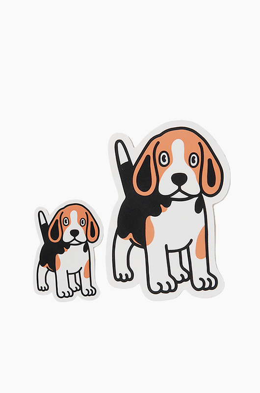 WARF Beagle Sticker