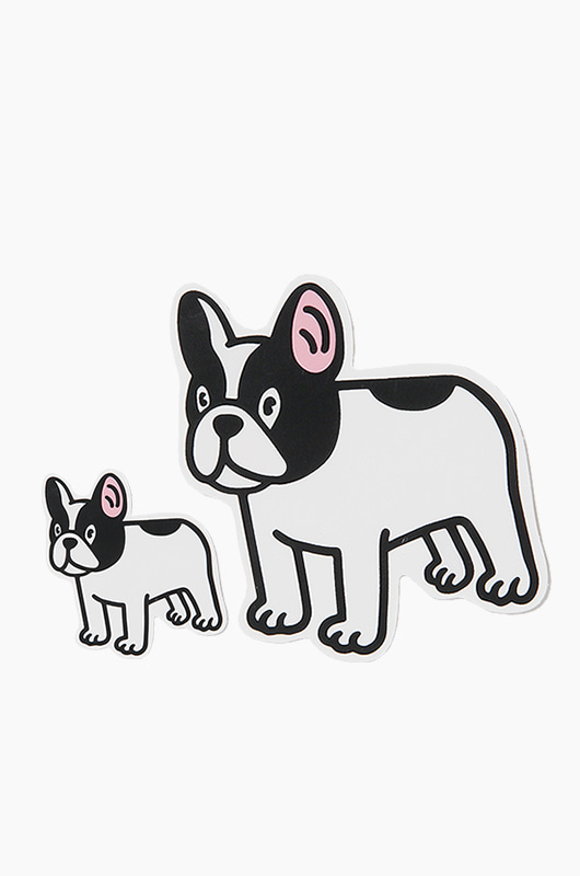 WARF Boston Terrier Sticker
