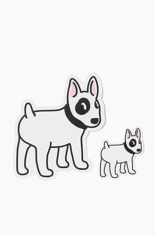 WARF Bull Terrier Sticker