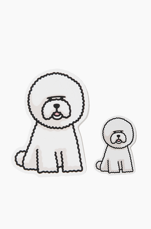WARF Bichon Sticker