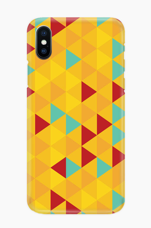 CHILLN Graphic Case Yellow Triangle