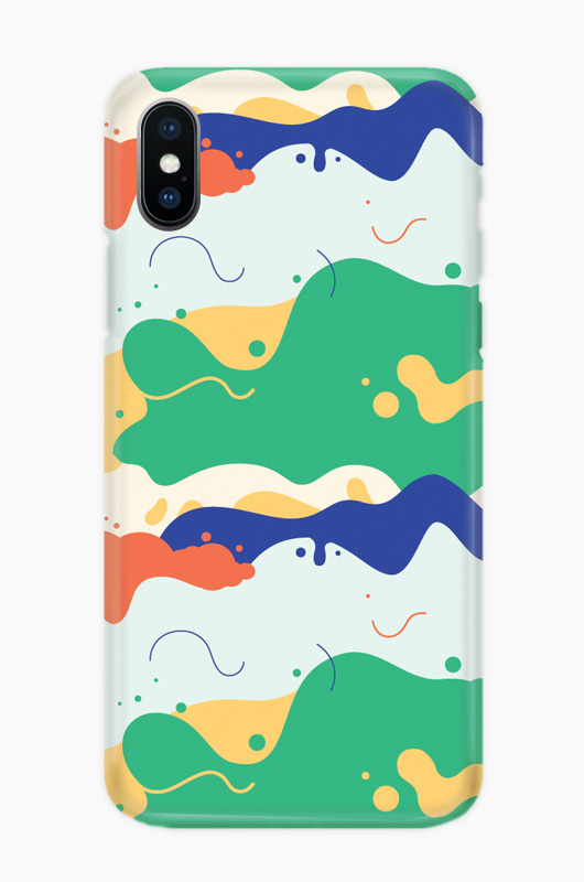 CHILLN Graphic Case Beach Wave