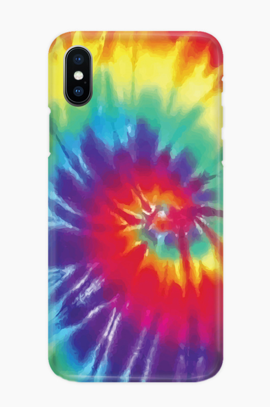 CHILLN Graphic Case Tie Dye