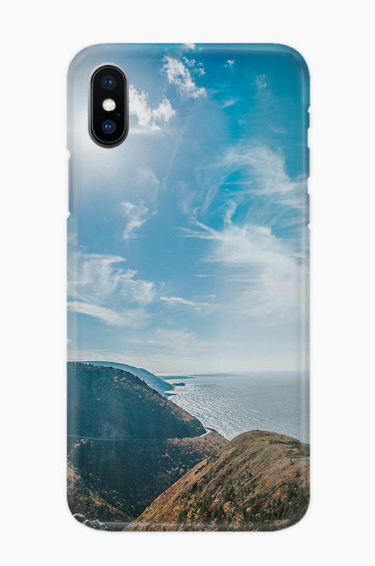 CHILLN Graphic Case Mountain Ocean
