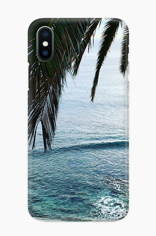 CHILLN Graphic Case Beach Palm Tree
