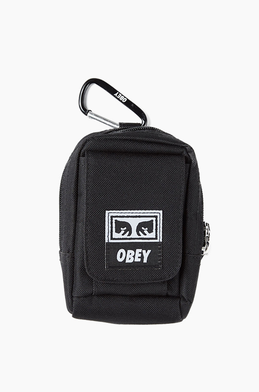 OBEY Drop Out Utility Small Bag Black