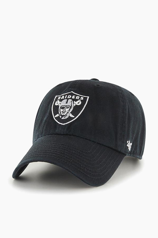 47BRAND NFL Clean Up Raiders Black
