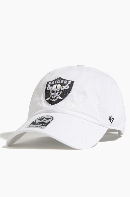 47BRAND NFL Clean Up Raiders White