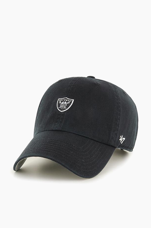 47BRAND NFL Abate Clean Up Raiders Black