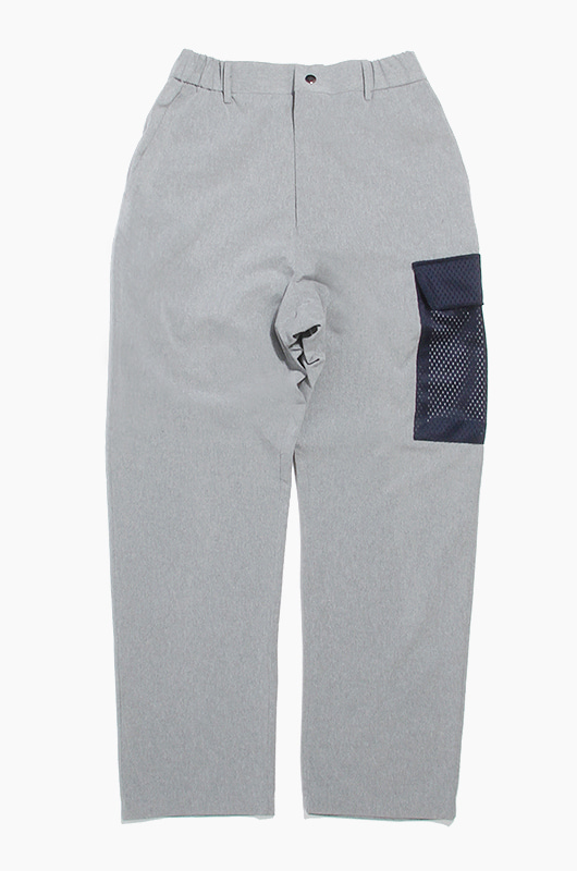 PISCATOR Yacht Pants Silver