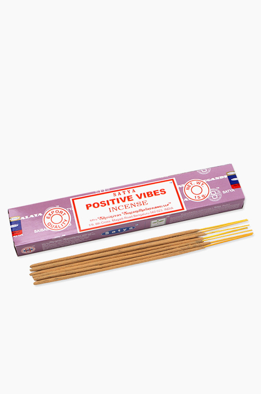 INCENSE Nagchampa Positive Vibes