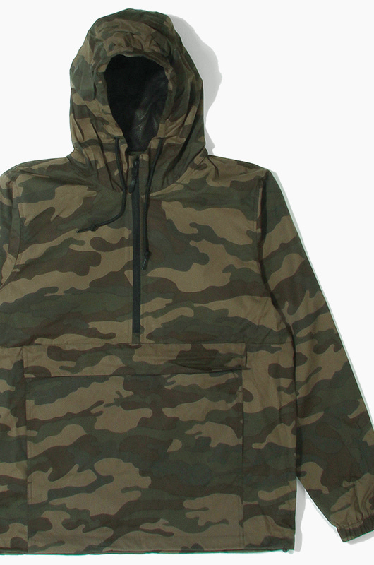 iNDEPENDENT Nylon Anorak Jacket F.Camo