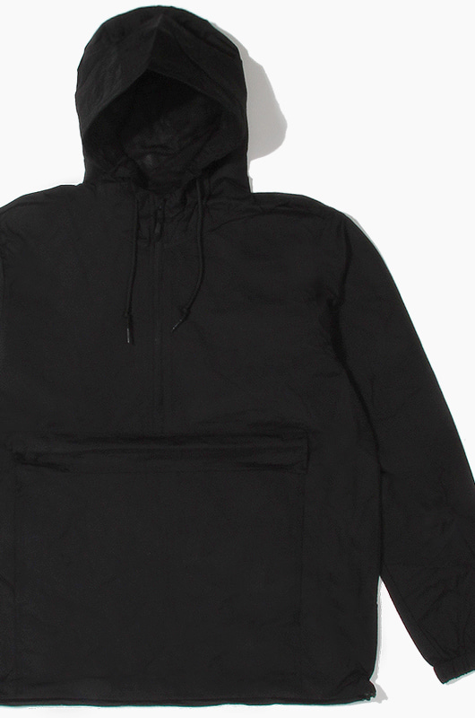 iNDEPENDENT Nylon Anorak Jacket Black