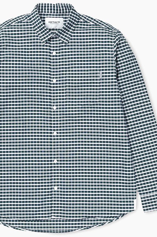 CARHARTT-WIP Lemming Shirt l/s L.Check/Sequoia