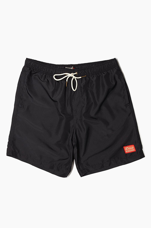 DEUS Plains 16 Inch Shorts Black