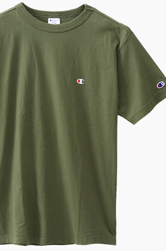CHAMPION (JAPAN) Basic T-Shirt (C3-H359) Olive