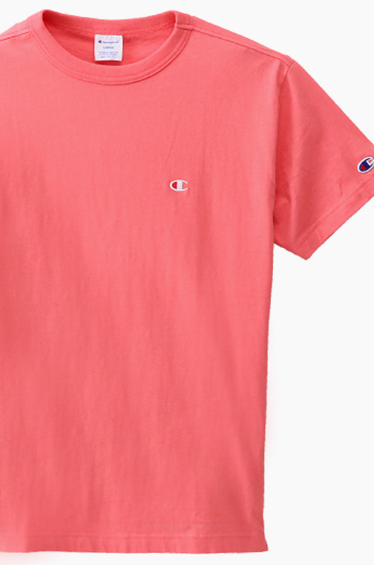 CHAMPION (JAPAN) Basic T-Shirt (C3-H359) Hot Pink