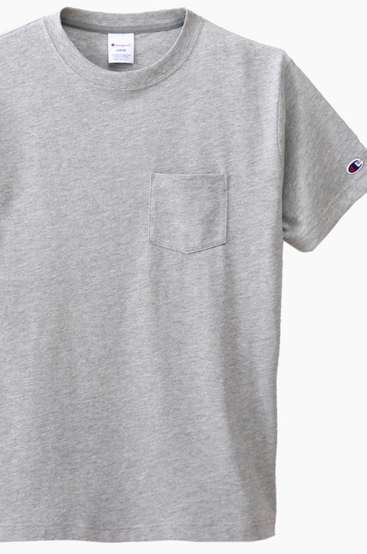 CHAMPION (JAPAN) Pocket T-Shirt (C3-K344) Grey