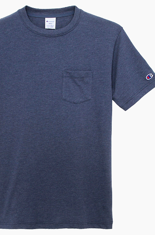 CHAMPION (JAPAN) Pocket T-Shirt (C3-K344) Navy