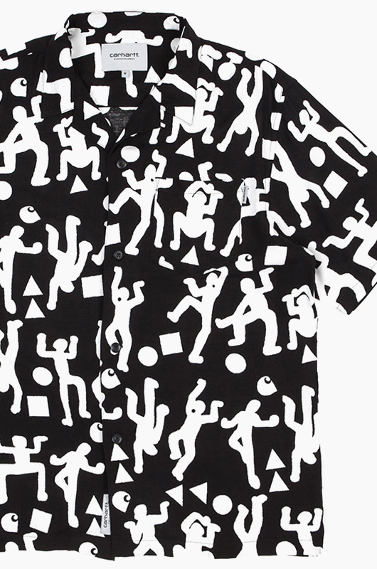 CARHARTT-WIP World Party Shirts Black/White