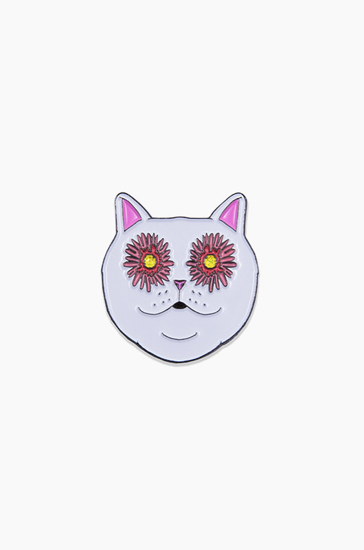 RIPNDIP Flower Eyes Pin