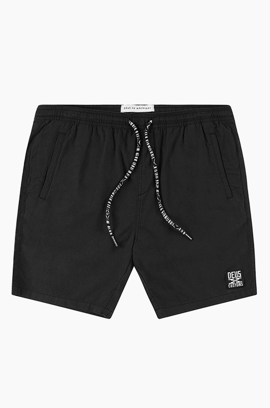 DEUS Stella Shorts Black