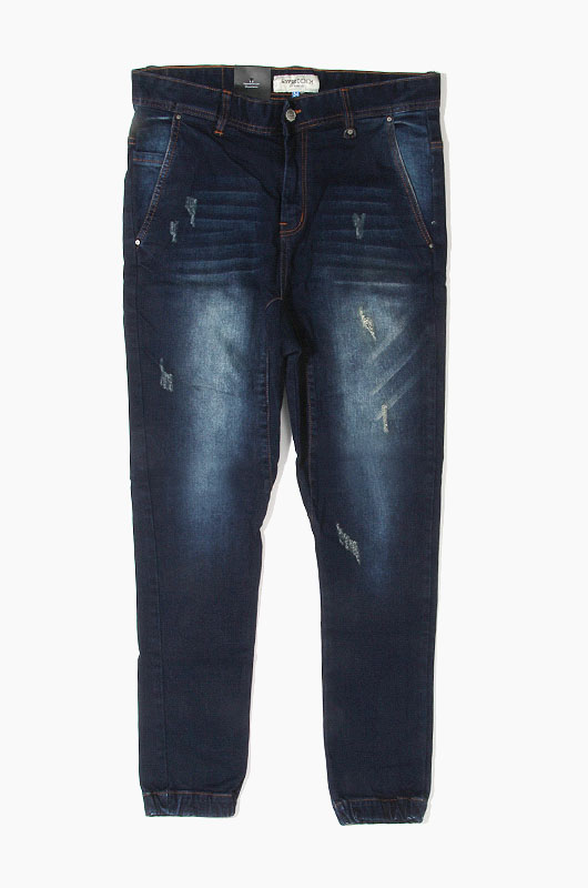 HYPER DENIM Drop Crotch Denim Jogger Indigo