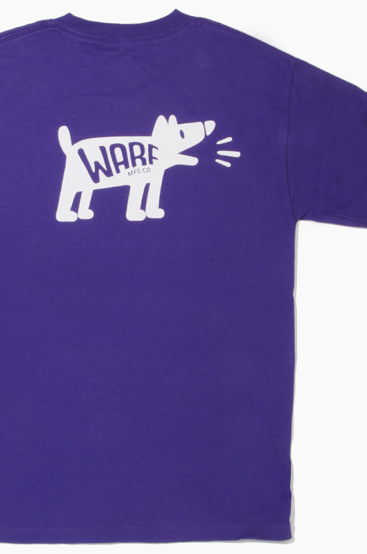 WARF Sound of Dog S/S Purple