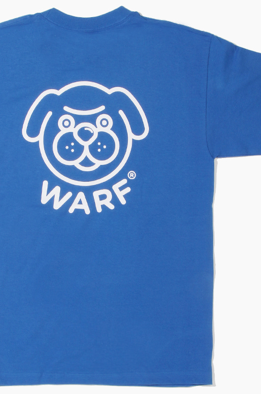 WARF Big Face S/S Royal