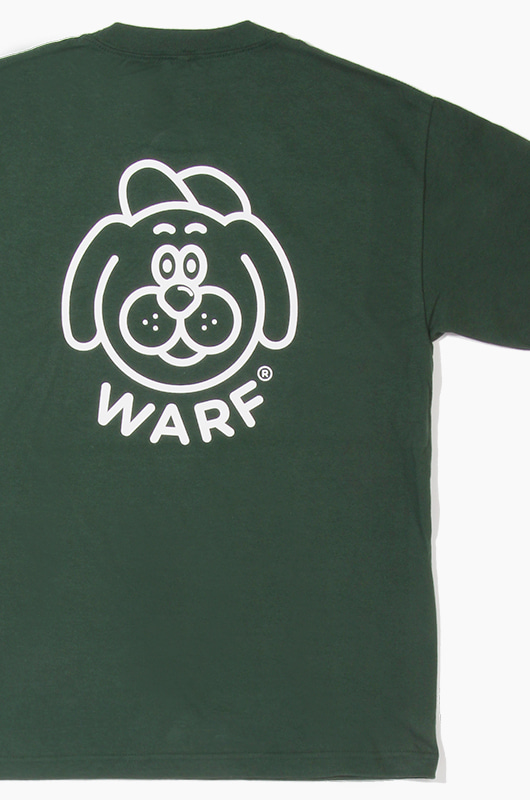 WARF Big Face S/S Green