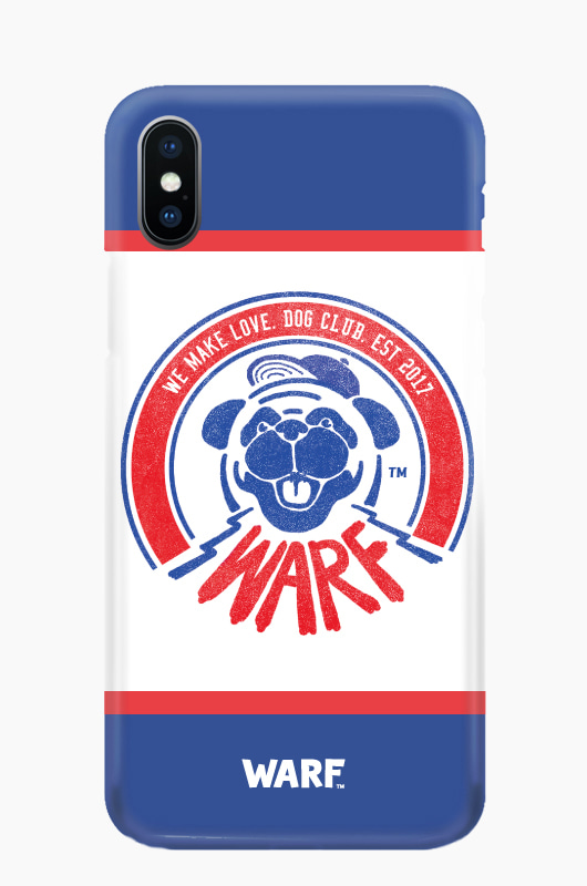 WARF Dog Club Mobile Case Blue