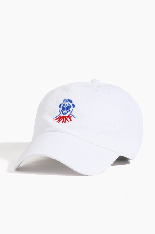 Warf Dog Club Cap White