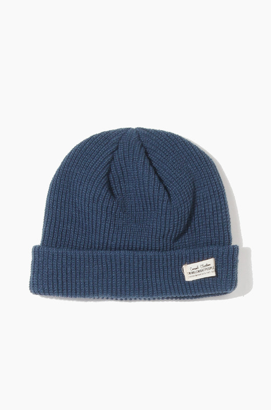 TNP WH Label Watch Cap Blue