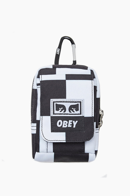 OBEY Drop Out Utility Small Bag Checker