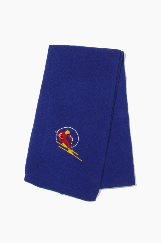 POLO Retro Skier Scarf Royal
